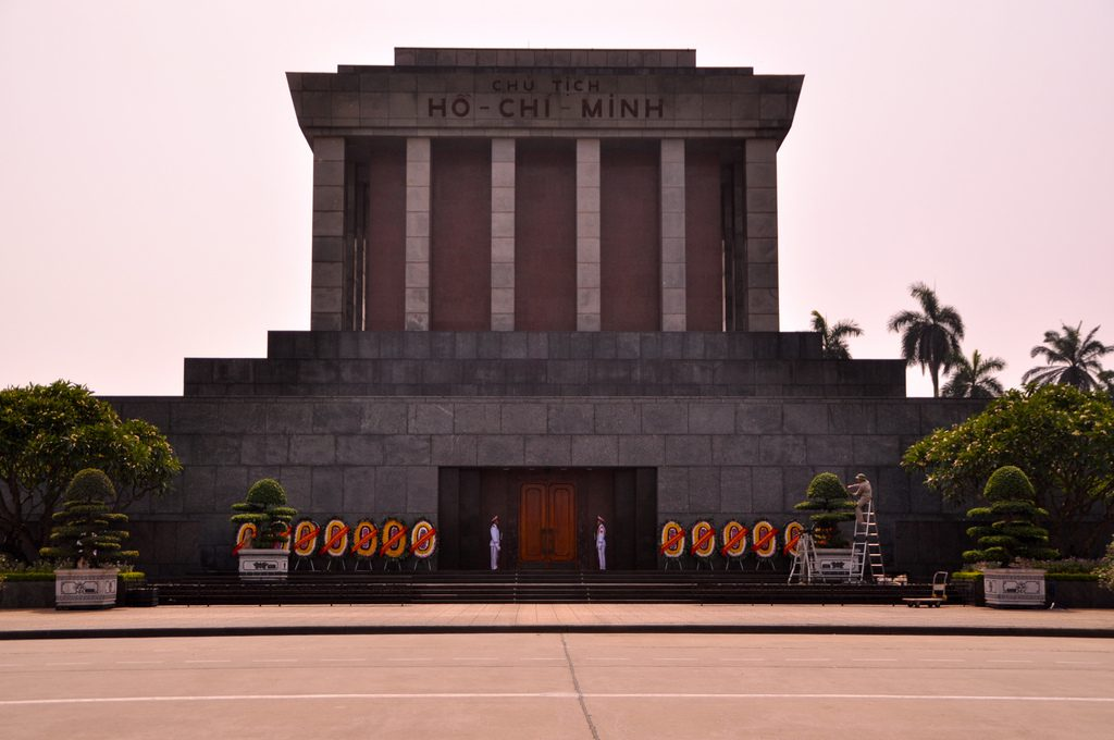 ho chi minh monument foto